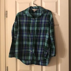Plaid Old Navy shirt